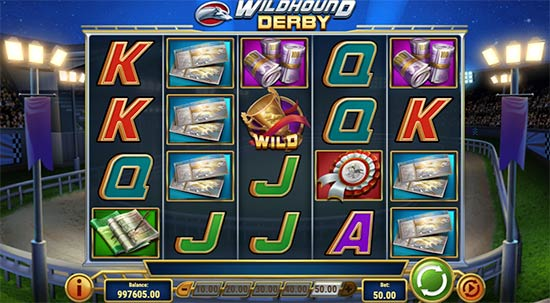 Wildhound Derby slot fra Play'n GO.