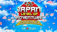 BitStarz logo Japan Level Up Adventure
