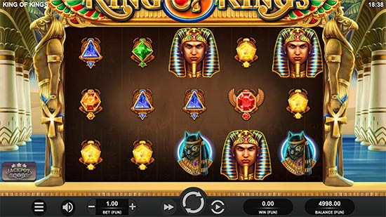 King of Kings slot fra Relax Gaming.