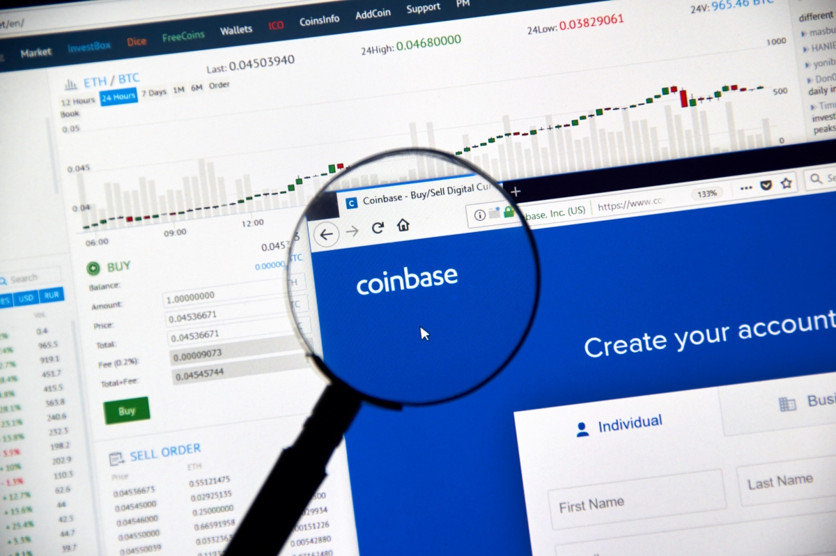Coinbase alternativ